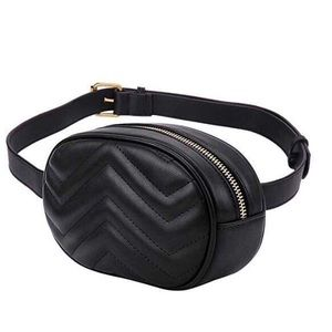 Handbags - Black Chevron Fanny Pack, Chest Bag